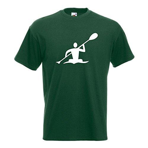 KIWISTAR - Kanu Paddel T-Shirt in 15 verschiedenen Farben - Herren Funshirt  bedruckt Design