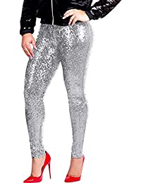 9e7b09f1c51 New Women Fashion Sequin Trousers Plus Size Shiny Slim Pants Sexy Party  Clubwear Personality Style