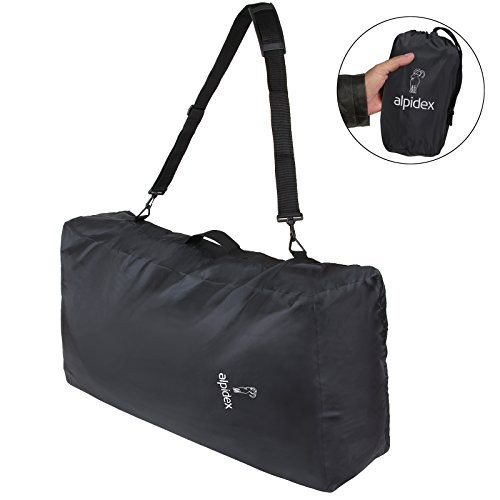 ALPIDEX Universeller Rucksack Schutz Flight Bag 80 Liter mit Schultergurt, Öse für Vorhängeschloss, Tragegriff, Innentasche und Packsack