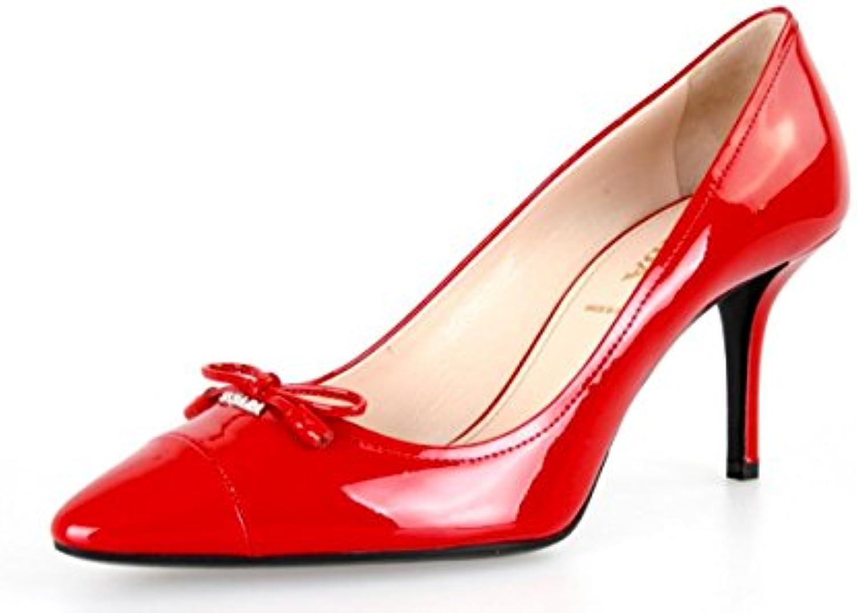 0b6e02e8cda273 Prada femme 1i294 F 069 069 069 F0011 Spazzolato brossé en cuir Cour  Chaussures/PompesB01E69NJNUParent | élégante | Prix Raisonnable 855275