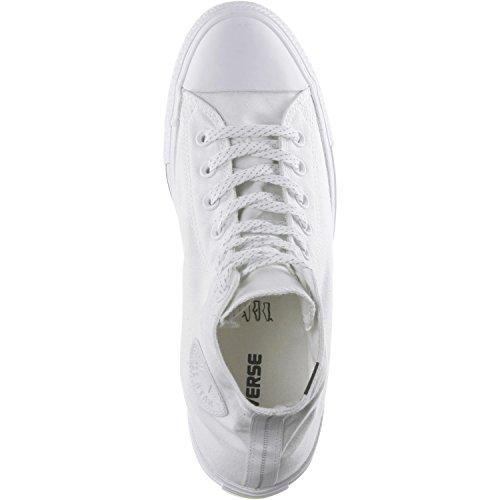 Converse Chuck 153792C sneaker High Black/White/Lava bianco