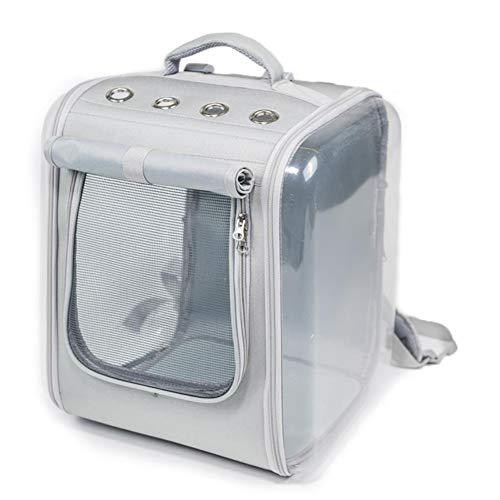 Sac à dos pour animal de compagnie,sac à dos de luxe pour animal de compagnie pour petits chats et chiens,design ventilé,dispositifs de sécurité/une utilisation en extérieur