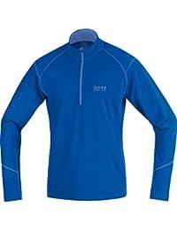 Gore Running Wear Essential Thermo Zip - Camiseta térmica de manga larga para hombre