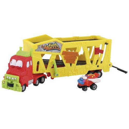 Giochi Preziosi 70681411 - Trash Pack Wheels Autotransporter - Miniauto