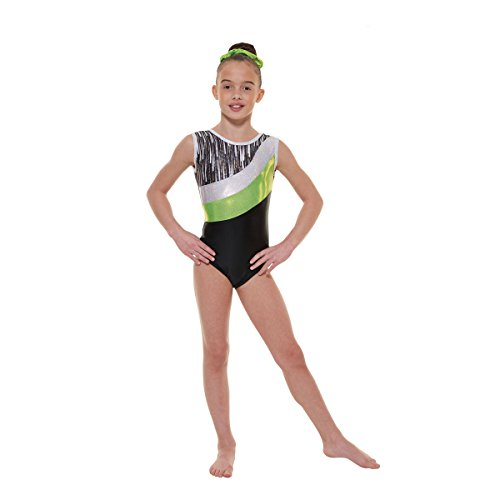 gym-43-foiled-nylon-lycra-and-shine-tappers-pointers-gymnastic-leotard-ebony-shine-grey-cascade-holo