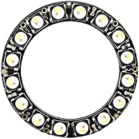 Lovelysunshiny Anillo NeoPixel: 16 x 5050 LED RGBW con Controladores Integrados 16 Ultra Bright