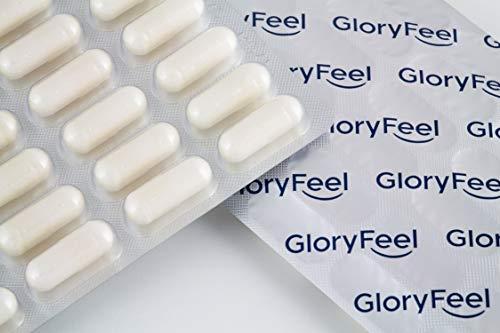 GloryFeel® Gelenk-Knorpel+* 60 vegane Kapseln MSM hochdosiert PLUS Vitamin C aus Acerola – 1.600mg reines MSM (Methylsulfonylmethan) pro Tagesdosis – Laborgeprüfte Herstellung in Deutschland
