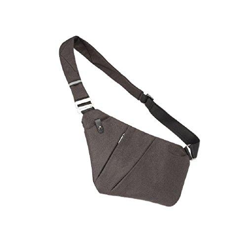 RichDeer Sling Brust Rucksack, Ultra leichte kleine Crossbody Tasche Geldbörse Geldbörse für Reise-Gym Wandern Mini Schulter Messenger Bag Daypacks für 7,9 Zoll Mini iPad Tablet