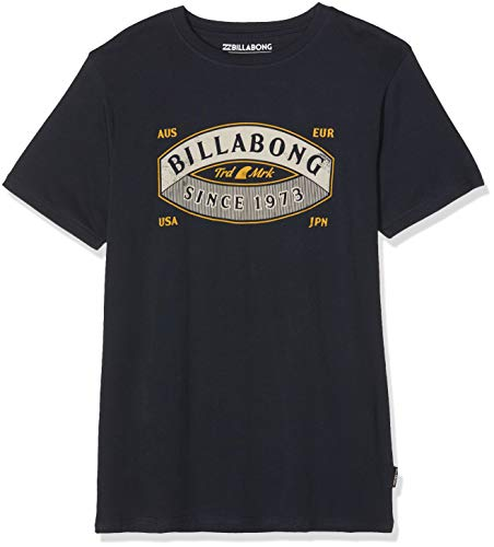 G.S.M. Europe - Billabong Jungen GUARDIANT Tee SS Boy Kurzarm-t-Shirt, Navy, 12 -