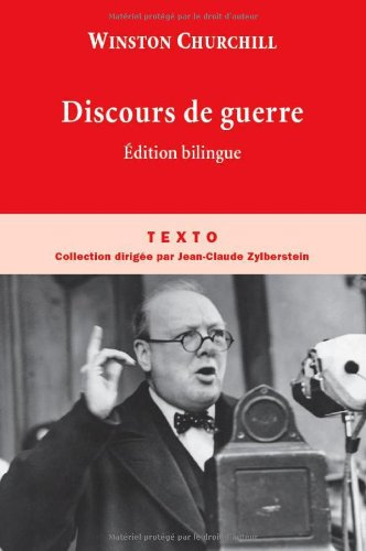 Discours de guerre : Edition bilingue