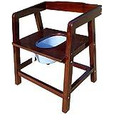 ch-AIR Holz Sitzreihe Toilette Bequem Stuhl Sessel Toilette Stühle Hocker Stühle Sitzen Toilette Hocker (Farbe : A)