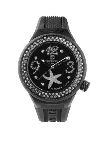 Kienzle - 725/3060 - Montre Femme - Quartz Analogique - Bracelet Silicone Noir