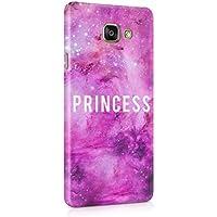 Princess Queen Daddy's Babygirl Étoiles Roses Galaxy Milkyway Coque De Protection Fine En Plastique Housse Etui Rigide Pour Samsung Galaxy A5 2016 Slim fit Case Cover