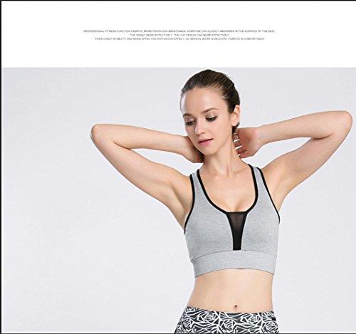 Della Donna Della Biancheria Intima Reggiseno / Shock / Sport / Funzionare / Maglia / Fitness , fluorescent orange + black , s LIGHTGRAYBLACK-S