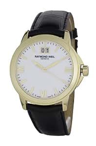 Raymond Weil Watches - 5476-P-00307 - Montre Homme - Quartz Analogique - Bracelet Cuir Noir