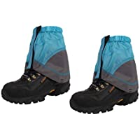 VORCOOL Tobillo a Prueba de Agua Gaiters Montaña Low Gaiters para Caminar Caminar con Mochila Caza Escalada