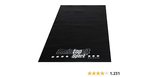 Christopeit Bodenschutzmatte Bodenmatte für Heimtrainer 200x100x0,3cm 1400