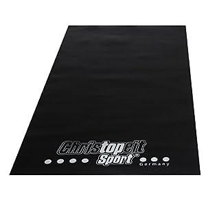 Christopeit Bodenschutzmatte, schwarz