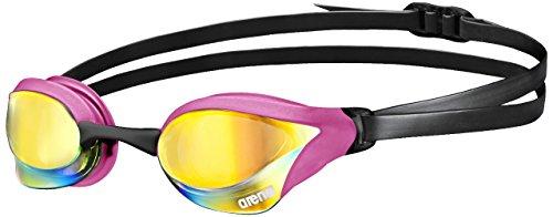 arena Unisex Training Wettkampf Schwimmbrille Cobra Core Mirror (Verspiegelt, UV-Schutz, Anti-Fog Beschichtung), Pink Revo-Pink-Black (995), One Size