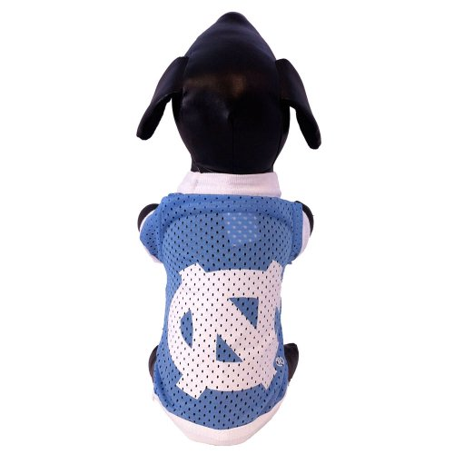 All Star Dogs NCAA North Carolina Tar Heels Athletic Mesh Hund Jersey, unisex, Team Color (Athletic Logo Athletic Jersey)