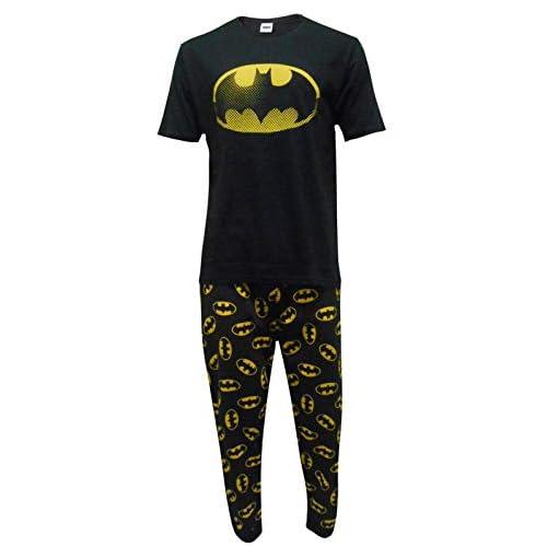 Pijama de Batman para hombre, varios diseños de DC Comics 1