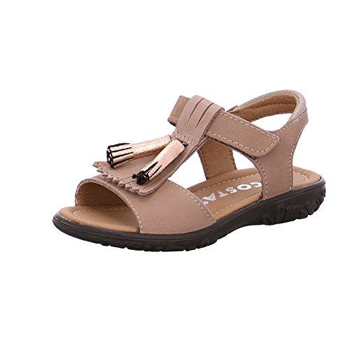 Schuhe Celine (Ricosta Mädchen Celine Offene Sandalen, Beige (Skin), 29 EU)