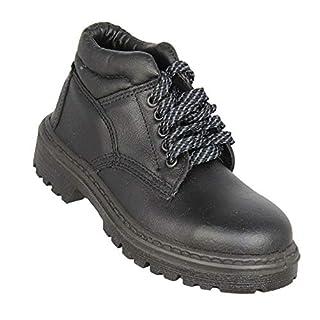 Almar OKI SA S1P SRC Work Shoes Bearing Shoes high Black B-Stock, Size:35 EU