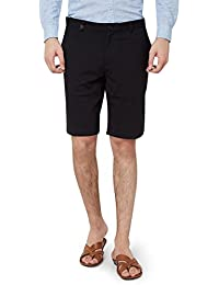 Hammock Men's Knitted Solid Chino Shorts - Black