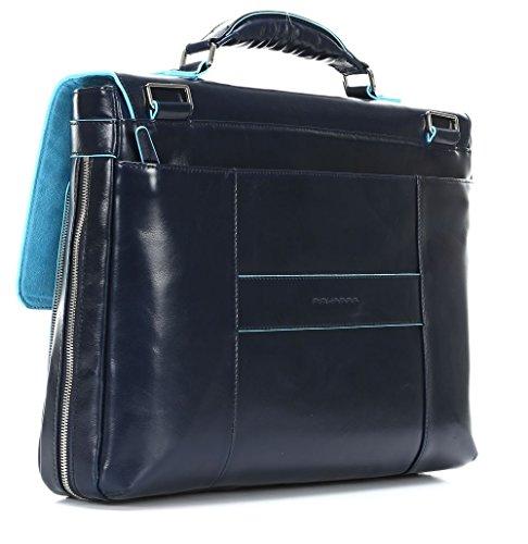 41uC Ld98ZL - Piquadro Blue Square maletín fino expanible portaordenador concompartimento portaiPad®/iPad®Air - CA3111B2