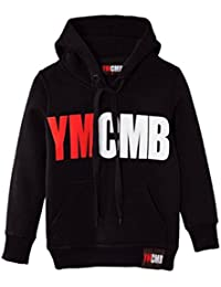 "Ymcmb - Sweat Ymcmb adulte noir ""rouge blanc "" - Xs,s,m,l,xl"