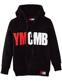 Ymcmb - Sweat Ymcmb enfant noir - blanc et rouge Taille de 8 à 16 ans - 8 ans,10 ans,12 ans,14 ans,16 Ans