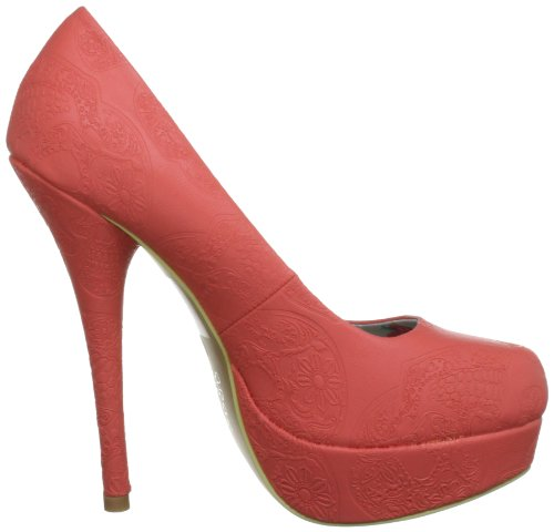 Iron Fist Maneater Platform 611673, Scarpe col tacco donna Rosso (Rot (lightred))