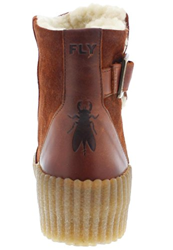 FLY London Damen Acid252fly Desert Boots Brick
