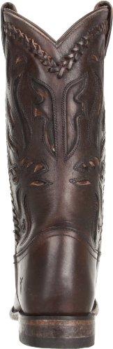 4578L stivali texani donna marroni FRYE wyatt overlay scarpe boots shoes women Marrone
