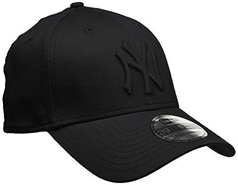 New Era 10145637 - Casquette de Baseball - Homme - Noir (Black) - Taille fabricant: M/L