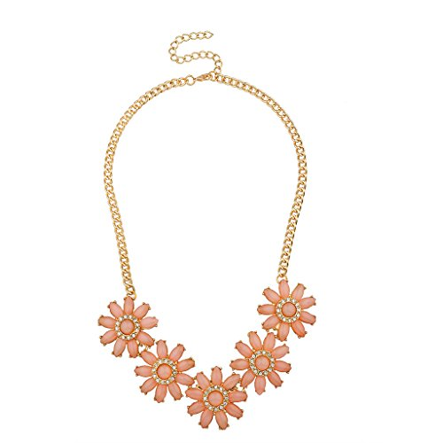 lux-accessories-peach-pave-crystal-floral-flower-statement-necklace