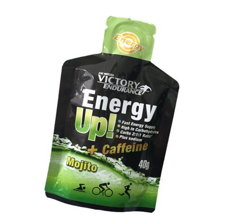 Victory Endurance Gel Energy Up 12 x 40 g Mojito Caféine