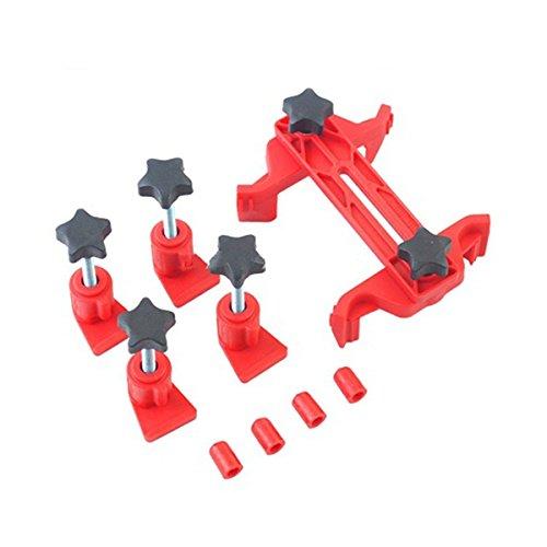 TOOGOO Universel Trousse d'outils de verrouillage de pignon de distribution d'arbre a cames a double came 5pcs/ensemble