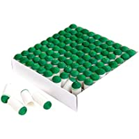 Approx. 100Pcs Snooker Pool Cue Tips Push-on 10mm by Generic