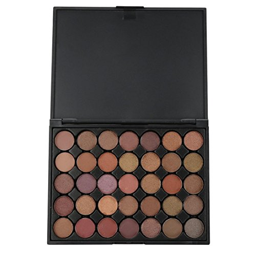 WYXlink 35 Farbe coloShimmer Glitter Eye Shadow Puder Matt Lidschatten kosmetische Make-up (e) -