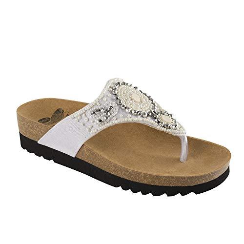 Scholl Scholl Taila Damen Sandalen Weiß