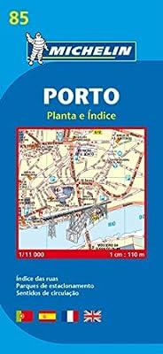 Porto - Michelin City Plan 85: City Plans