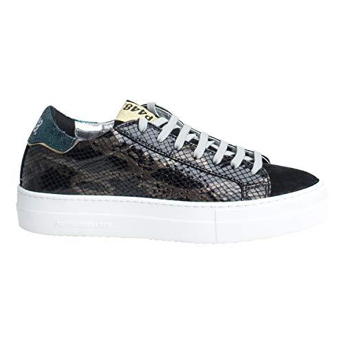 P448 Damen Sneaker Low A8THEA BLK Shine Mehrfarbig (41 EU)