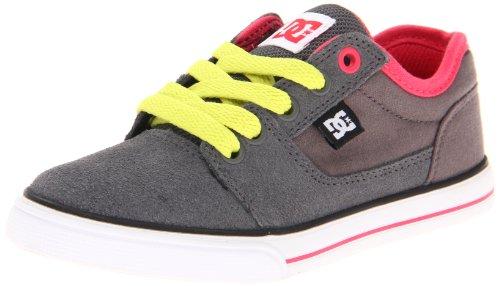DC BRISTOL YOUTH SHOE 303081-PEW, Unisex-Kinder Skateboardschuhe Grau (Pewter)
