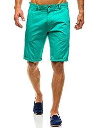 BOLF Herren Short Kurzhose Bermuda Hose Casual 7G7 Camo