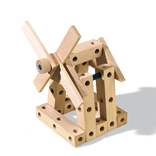 41uCA%2Bu4YgL - SES Estuche de Juegos de carpintería Creative, Multicolor (00945)