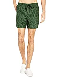 Mens Brave Soul Cheetah Print Swimming Board Shorts Summer Beach Surf Micro Fibre Trunks