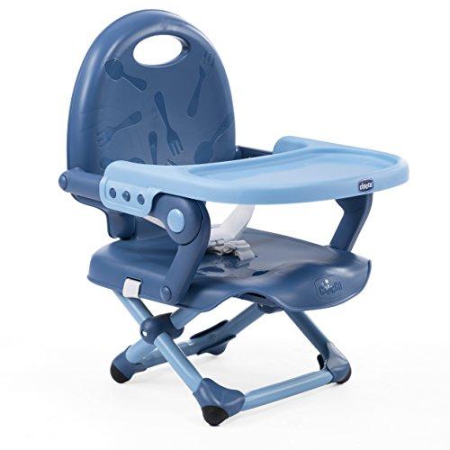 Chicco 06079340090000 Sitzerhoehung Pocket Snack, blau