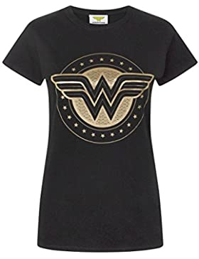 Wonder Woman Foil Shield Women's T-Shirt