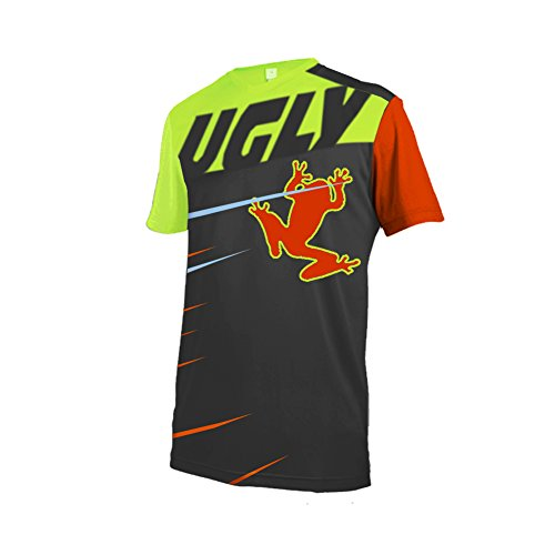 Uglyfrog #02 2018 Sport Kurzarm Sommer Stil Cycling Jersey Herren Motocross/MTB/Mountain Bike Wear Downhill Rundhals Shirt (Kurzarm-motocross Jersey)